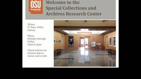 Thumbnail for entry HST 317: intro to primary & online sources
