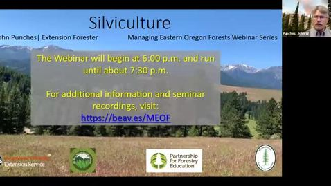 Thumbnail for entry Managing Eastern Oregon Forests: Silviculture