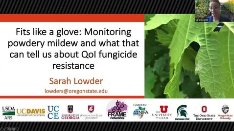 Thumbnail for entry Grape Day Webinar 2021: Sarah Lowder, OSU