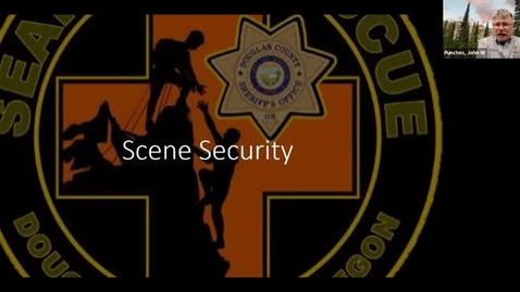 Thumbnail for entry DC SAR Academy: Scene Security and Helicopter Safety