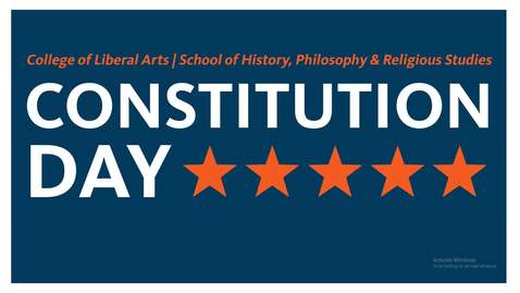 Thumbnail for entry Constitutional Crises: Past, Present, Future (A Constitution Day Event)