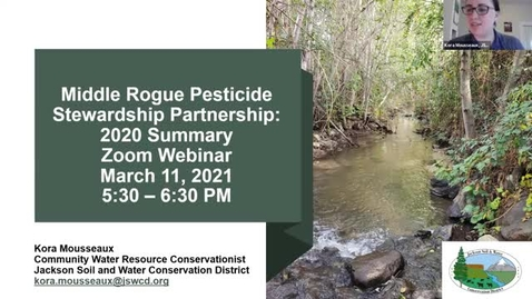 Thumbnail for entry Middle Rogue Pesticide Stewardship Partnership Annual Report