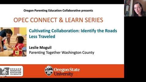 Thumbnail for entry Cultivating Collaboration: Identify the Roads Less Traveled