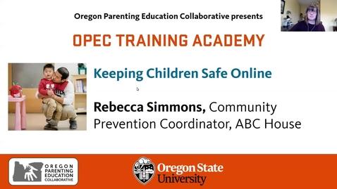 Thumbnail for entry Keeping Children Safe Online