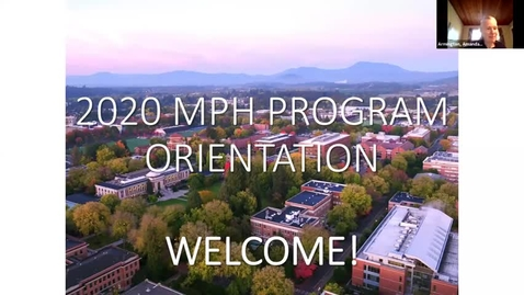 Thumbnail for entry 2020 MPH Orientation