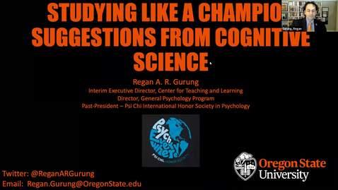 Thumbnail for entry StudyingLikeAChampion_Gurung2020
