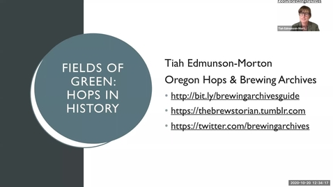 Thumbnail for entry Fields of Green: a short history of hops in the United States