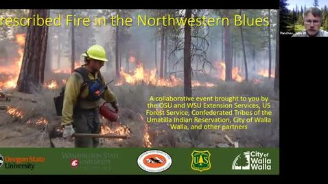 Thumbnail for entry Prescribed Fire in the Northwestern Blues
