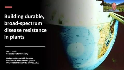 Thumbnail for entry BPP Spring Seminar Series: Dr. Jan Leach