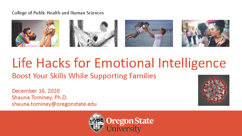 Thumbnail for entry Life Hacks for Emotional Intelligence: Boost Your Skills While Supporting Families