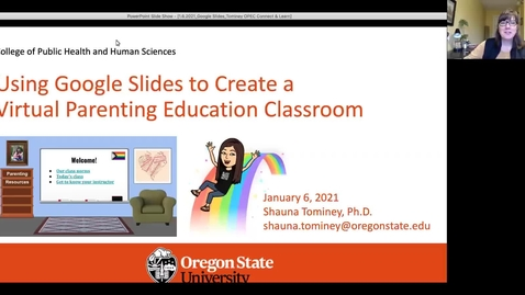 Thumbnail for entry Using Google Slides to Create a Virtual Parenting Education Classroom