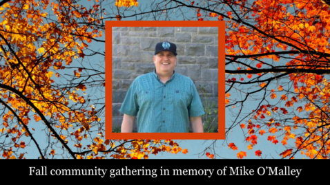 Thumbnail for entry Mike O'Malley's Community Gathering