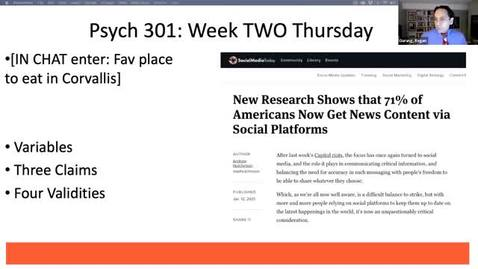 Thumbnail for entry RESEARCH METHS IN PSY (PSY_301_010_W2021)