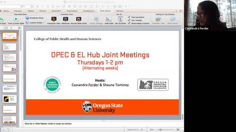 Thumbnail for entry 4.23.2020 OPEC-EL Hub Joint Bi-Weekly Meetings
