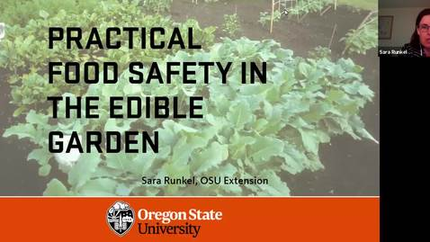 Thumbnail for entry Practical Garden Food Safety: best practices for the edible garden