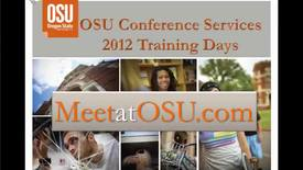How to Plan a Conference at OSU or Off Campus