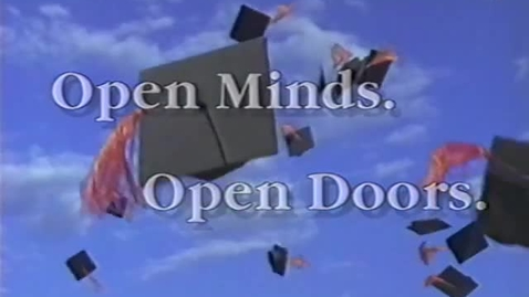 """Thumbnail for entry """"Open Minds, Open Doors,"""" circa 1998 [OSU promotional film]"""
