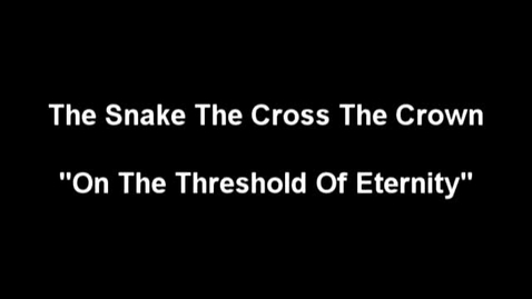 """Thumbnail for entry """"The Meow Meow Show"""" [KBVR-TV] - The Snake The Cross The Crown perform their song, """"On the Threshold of Eternity,"""" 2004"""