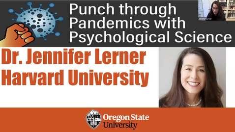 Thumbnail for entry Punch_Dr Jennifer Lerner