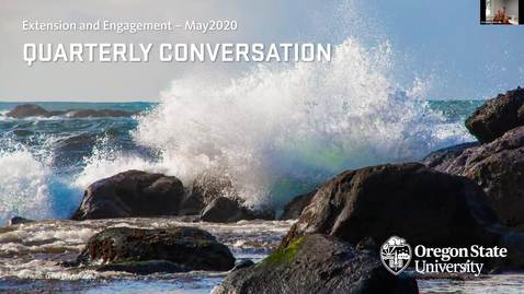 Thumbnail for entry Extension and Engagement Quarterly Conversation May 15, 2020