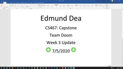 Thumbnail for entry CS467_Week3_Update