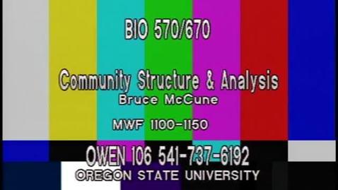 Thumbnail for entry BIO 570 - Lecture 06: Distance measures part 2