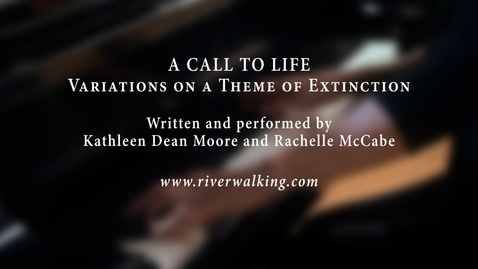 Thumbnail for entry A Call to Life: Variations on a Theme of Extinction
