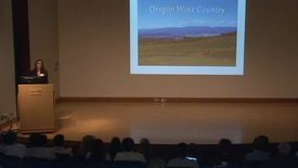 Thumbnail for entry Scholars' Insights 2013 - Alison Reeve: Increasing Sustainability of Oregon Pinot Noir