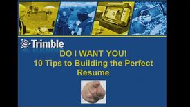 Thumbnail for entry 10 Tips to Building a Perfect Resume