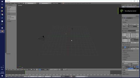 Thumbnail for entry Create an OBJ in blender
