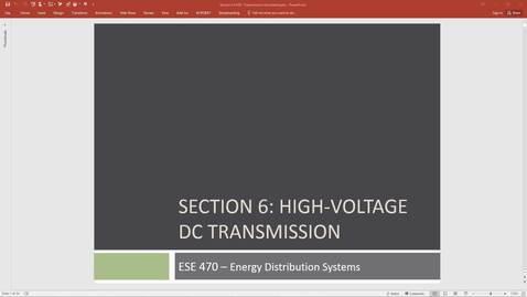 ESE 470 Class 14 - 11/08/18