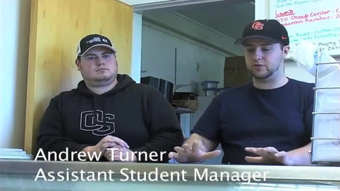 Thumbnail for entry KBVR News - Clark Meat Center, circa 2011