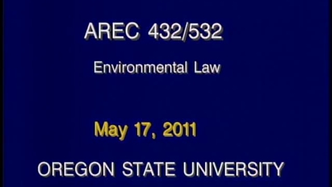Thumbnail for entry AREC 432/532 - Lecture 14