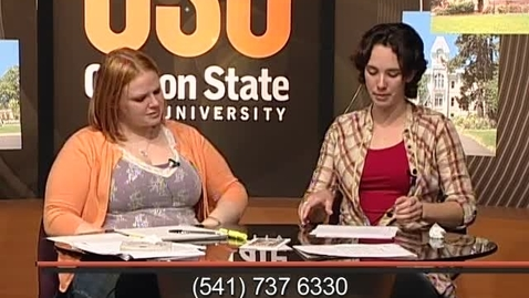 """Thumbnail for entry """"Campus View"""" [KBVR-TV Show], May 27, 2008"""