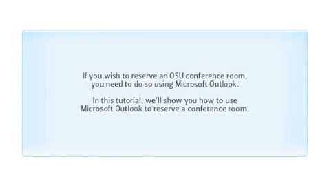 Thumbnail for entry Schedule Conference Rooms Using Outlook