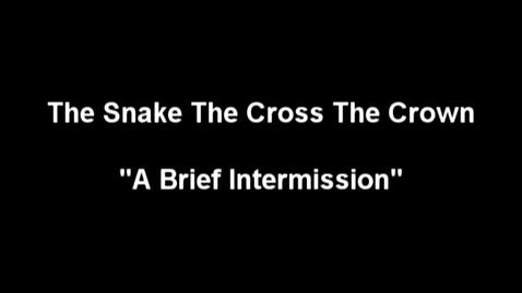 """Thumbnail for entry """"The Meow Meow Show"""" [KBVR-TV] - The Snake The Cross The Crown perform their song, """"A Brief Intermission,"""" 2004"""