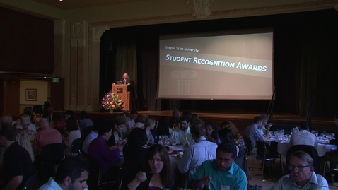 Thumbnail for entry 2014 OSU Student Recognition Awards