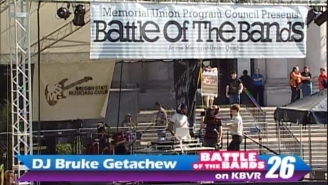 Thumbnail for entry Battle of the Bands - DJ Bruke Getachew, circa 2000s