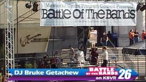 Thumbnail for entry Battle of the Bands - DJ Bruke Getachew, circa 2000s