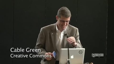 Thumbnail for entry 2012 Open Access Lecture: Cable Green
