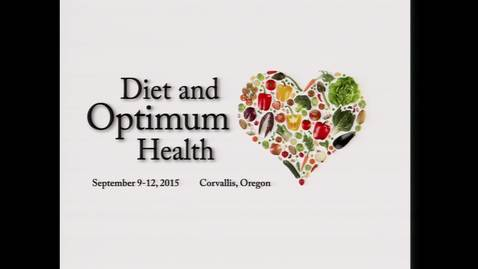 Thumbnail for entry Questions from the Public Session - Diet and Optimum Health 2015