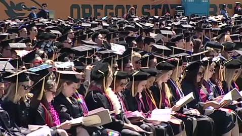 Thumbnail for entry 146th Annual Oregon State University Commencement (2015) - Part 4