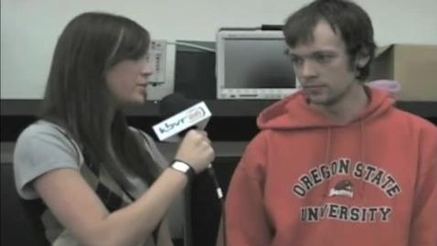 Thumbnail for entry KBVR News - OSU Robotics Club, 2009