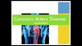 Thumbnail for entry Coronary artery disease - applications