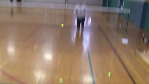 Thumbnail for entry backhand serve from the front