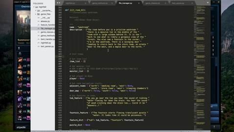 Thumbnail for entry Week 6 Progress Report Ian Lumiere CS467 RPG1