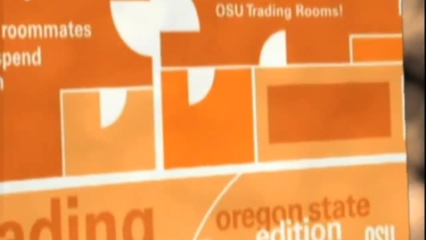 Thumbnail for entry Trading Rooms: Oregon State Edition, 2008.