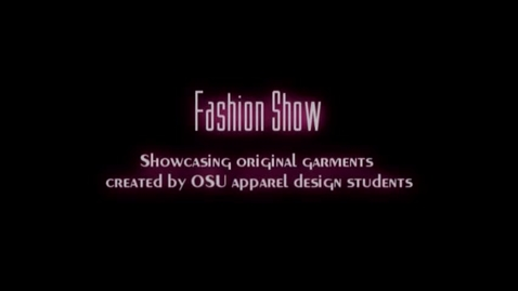 """Thumbnail for entry """"A Century of Design"""" Fashion Show and Design Exhibition, 2008"""