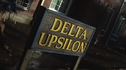 "Thumbnail for entry ""Greek Pads"" [KBVR-TV Show],  Delta Upsilon and Kappa Alpha Theta, 2009"