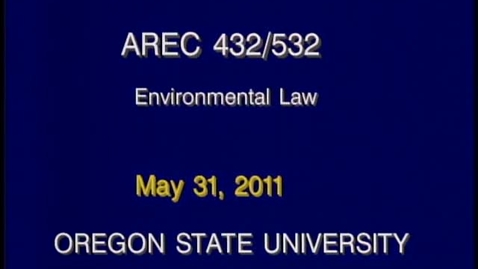 Thumbnail for entry AREC 432/532 - Lecture 18